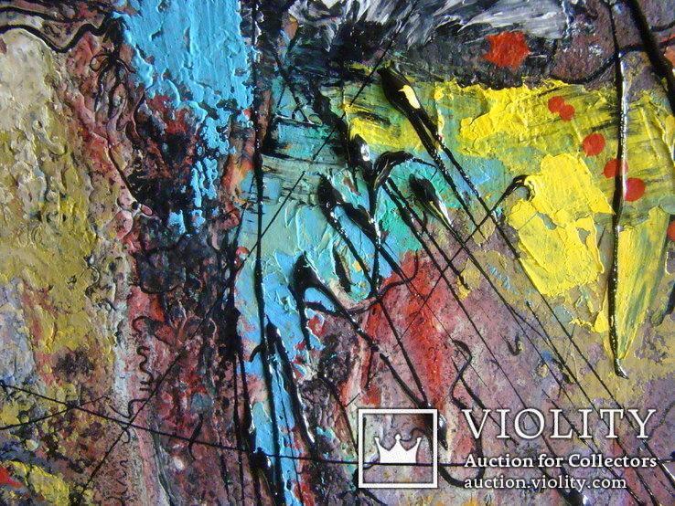 "Художник A.Losovoj, картина ""Пастораль"", холст, масло, 50х70, фото №5"