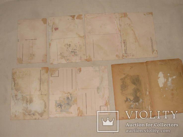 Открытки  подборка 17 шт. первая половина 20того века, фото №6