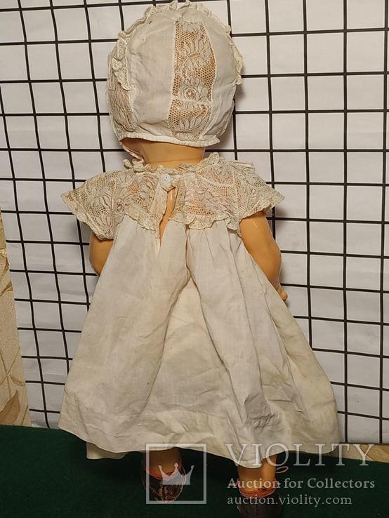 Целлулоидная кукла ОХК в старинном антикварном наряде, фото №7
