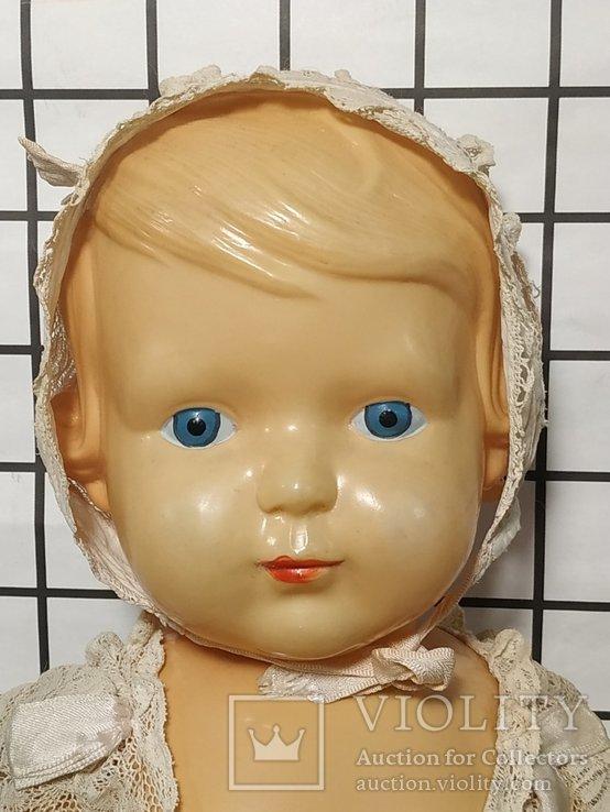 Целлулоидная кукла ОХК в старинном антикварном наряде, фото №8