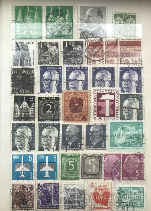 Марки Германии и DDR, фото №3