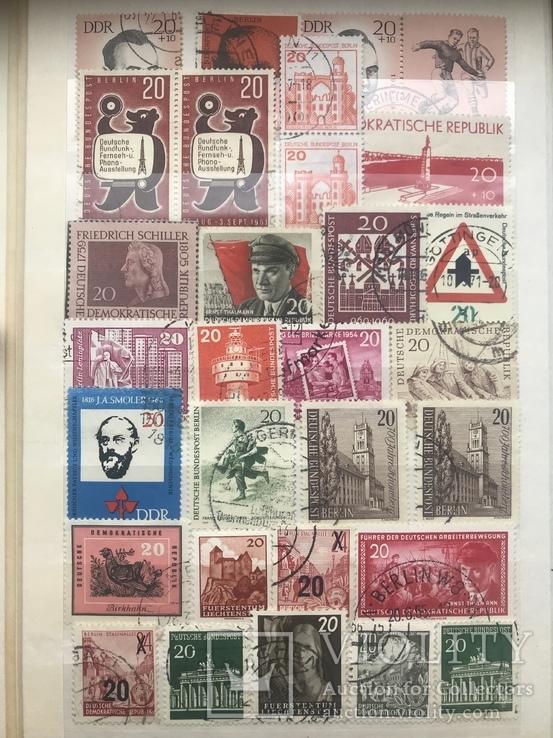 Марки Германии и DDR, фото №8