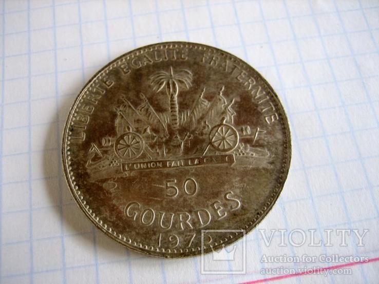 Старовинна закордрнна монета - копія, фото №3