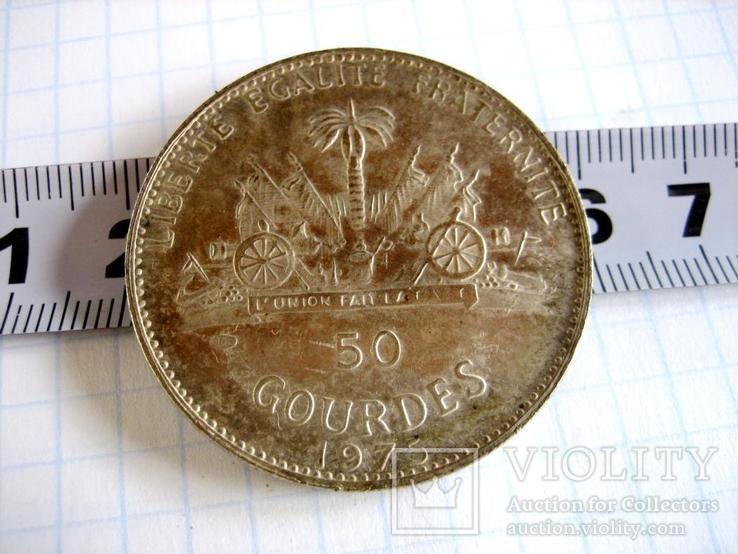Старовинна закордрнна монета - копія, фото №4