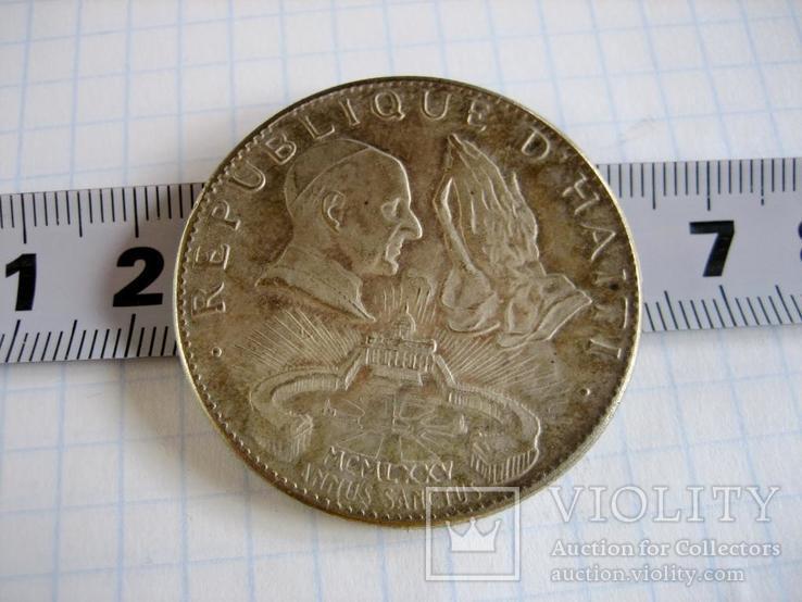 Старовинна закордрнна монета - копія, фото №5