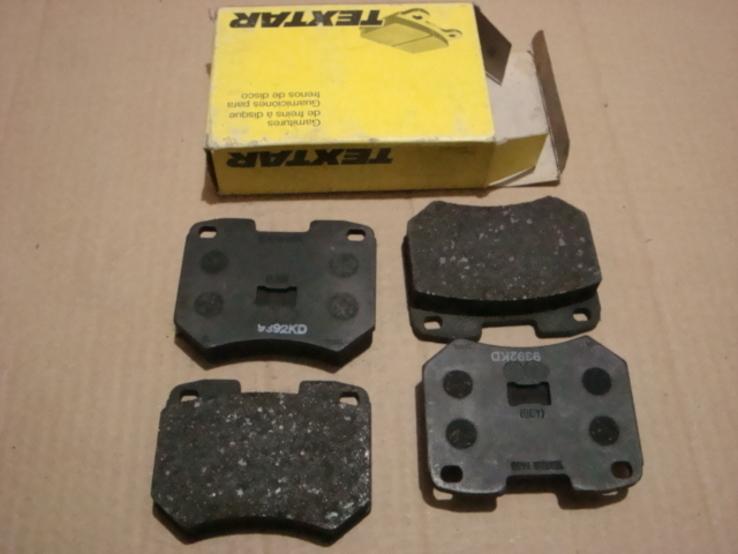 TEXTAR 2048419004 Комплект тормозных колодок AUDI