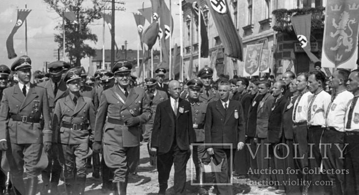 Франк і Вахтер відвідують Львів, 1943