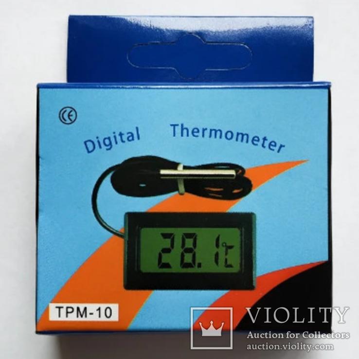 Цифровой термометр TPM-10 (-50...+110 °C) с выносным датчиком, фото №5