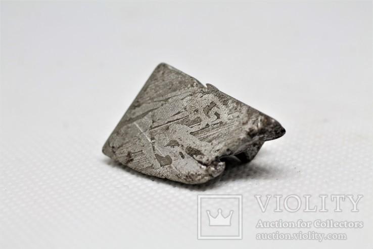 Залізо-кам'яний метеорит Seymchan, 25,5 грам, із сертифікатом автентичності, фото №5