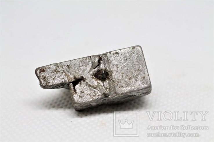 Залізо-кам'яний метеорит Seymchan, 25,5 грам, із сертифікатом автентичності, фото №6