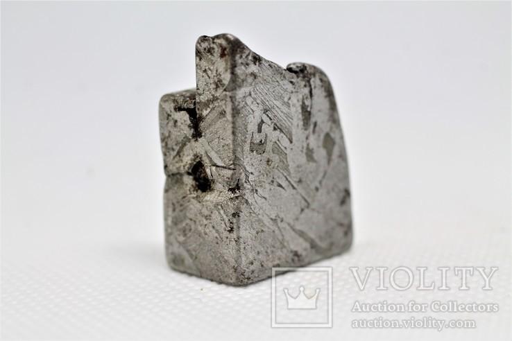 Залізо-кам'яний метеорит Seymchan, 25,5 грам, із сертифікатом автентичності, фото №9
