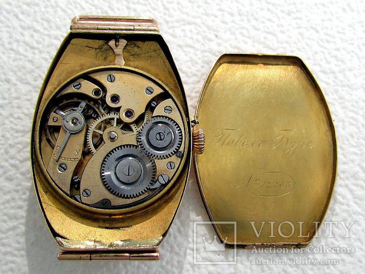 Павел Буре Pavel Bure Антикварные 1903-1904 года Швейцарские часы 585 золота На Ходу, фото №8