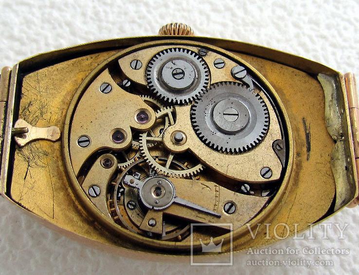 Павел Буре Pavel Bure Антикварные 1903-1904 года Швейцарские часы 585 золота На Ходу, фото №10
