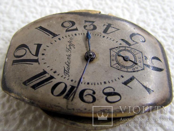 Павел Буре Pavel Bure Антикварные 1903-1904 года Швейцарские часы 585 золота На Ходу, фото №12