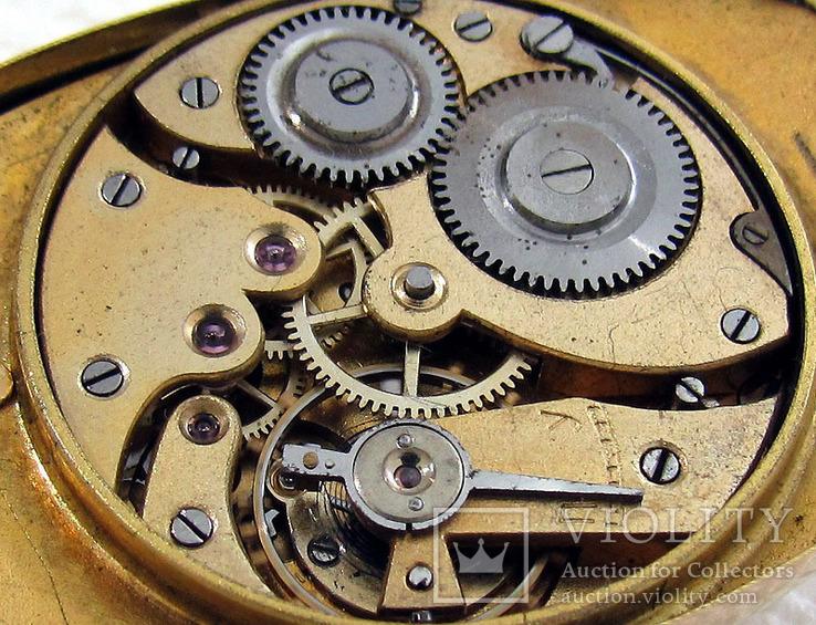 Павел Буре Pavel Bure Антикварные 1903-1904 года Швейцарские часы 585 золота На Ходу, фото №13
