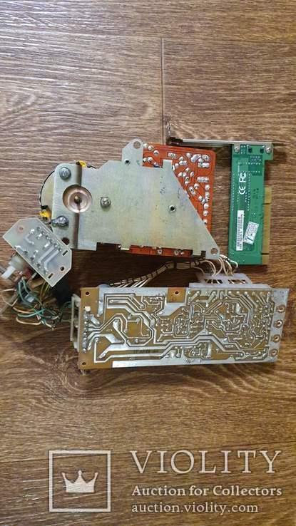 Платы с радиодеталями, фото №3