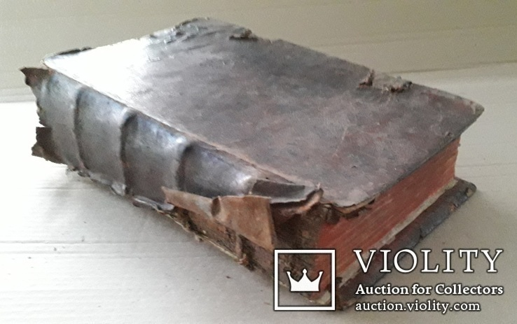 1686 г. Октоих (украинская книга) + рукопись, фото №3
