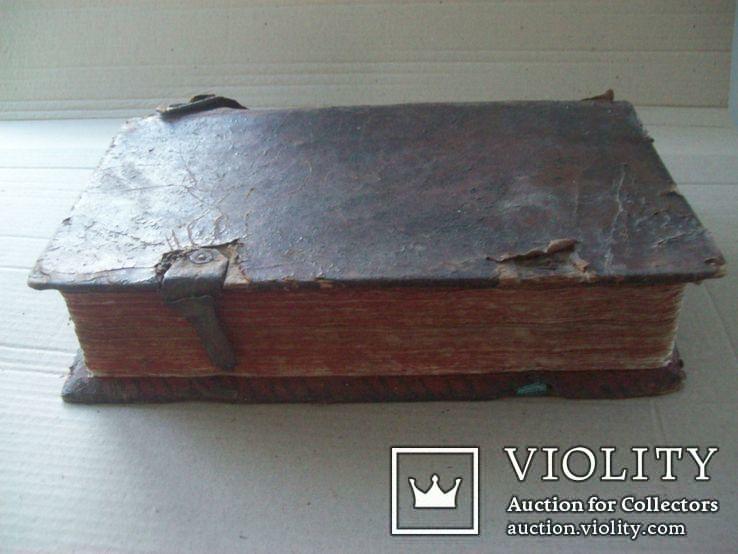 1686 г. Октоих (украинская книга) + рукопись, фото №4