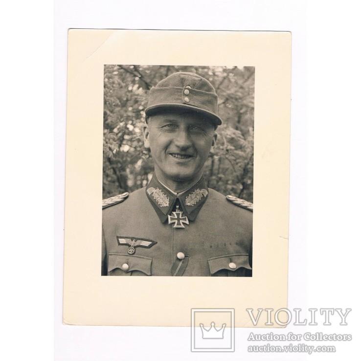 Шинель немецкого генерала танковых войск Э. Шнайдера 1943 года, фото №2