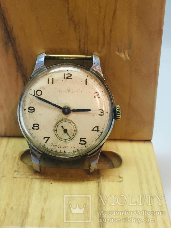 Часы Победа 1 мчз 2-й квартал 1954 года, фото №3