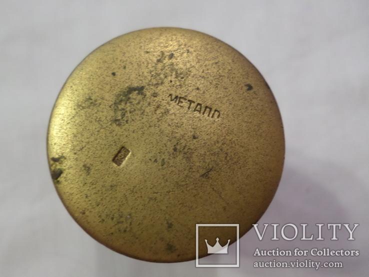 Стопка ссср эмаль позолота ЛФ6, фото №6