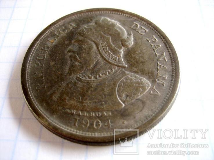Старовинна закордонна монета - копія., фото №2