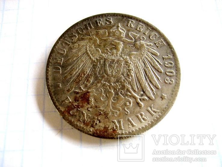 Старовинна закордонна монета - копія., фото №3