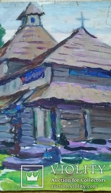 С.Степанюк 1989р. 36х54 см, фото №4