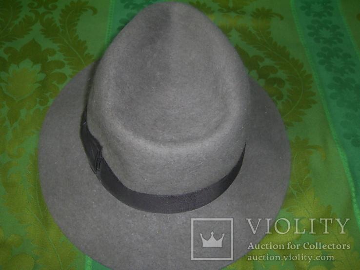 Шляпа фетровая тм Wegener р.57, фото №5