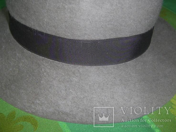 Шляпа фетровая тм Wegener р.57, фото №6