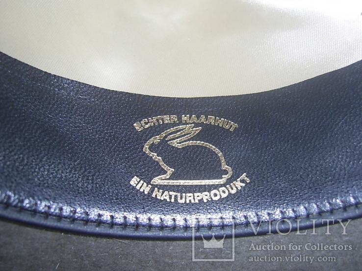 Шляпа фетровая тм Wegener р.57, фото №10