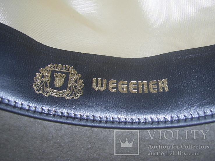 Шляпа фетровая тм Wegener р.57, фото №11