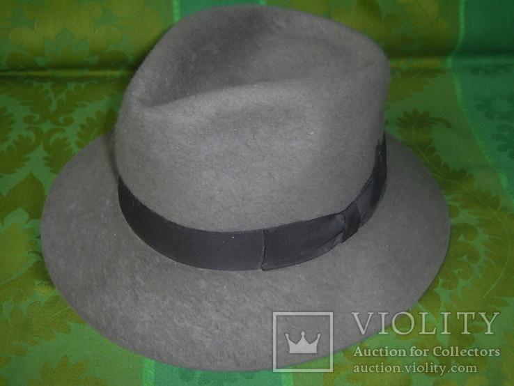 Шляпа фетровая тм Wegener р.57, фото №13