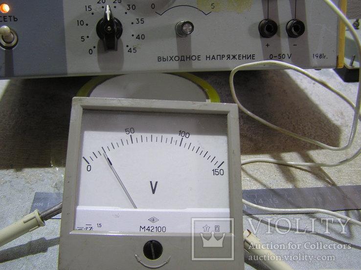 Вольтметр постоянного тока 0-150V., фото №3