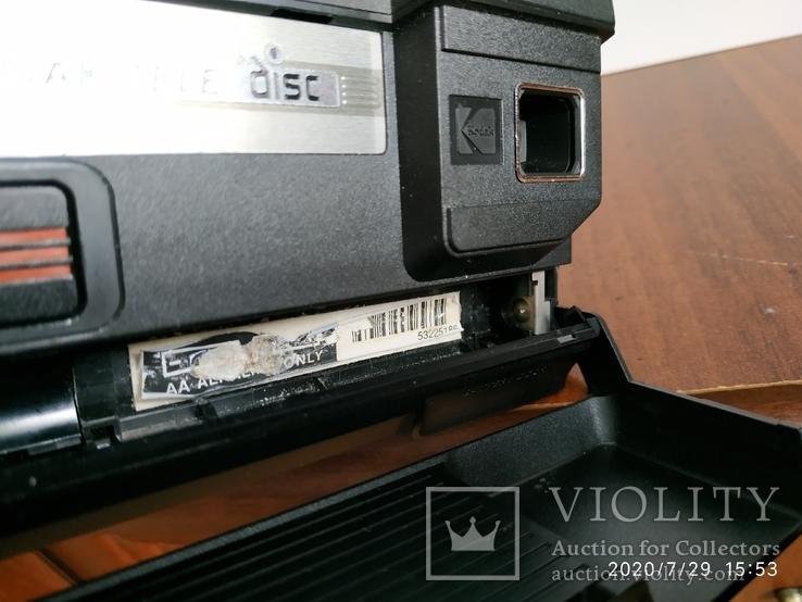Дисковый Kodak tele disk made USA, фото №7