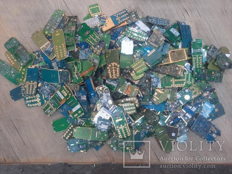Платы мобильников без чипов ( микросхем ) 3 кг, фото №2