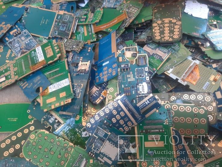 Платы мобильников без чипов ( микросхем ) 3 кг, фото №4