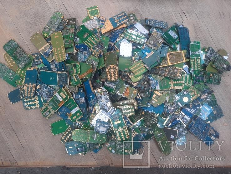 Платы мобильников без чипов ( микросхем ) 3 кг, фото №8