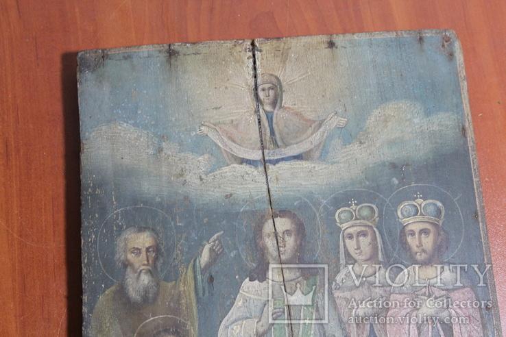 Икона Покрова 22*29, фото №3
