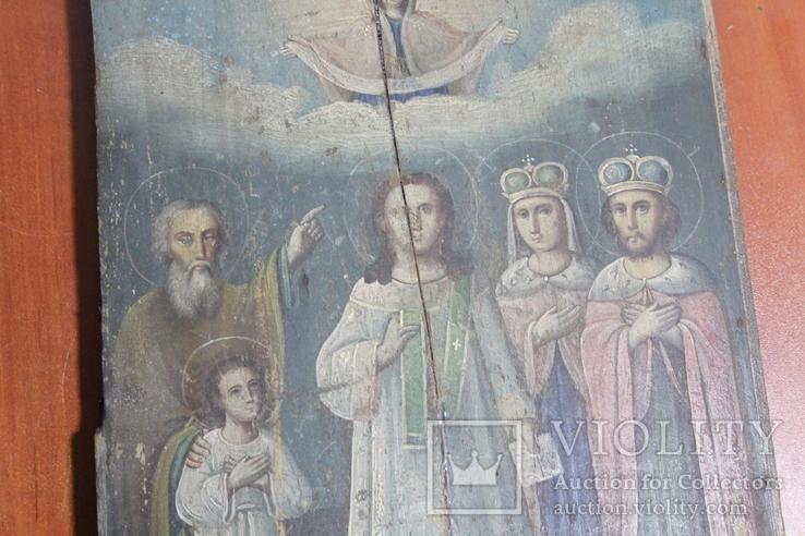 Икона Покрова 22*29, фото №4