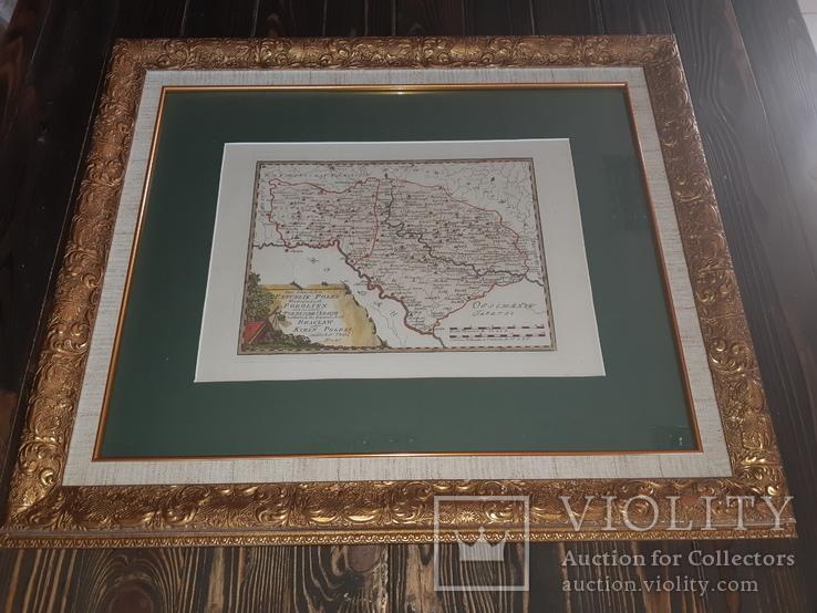 1791 Карта Подолья
