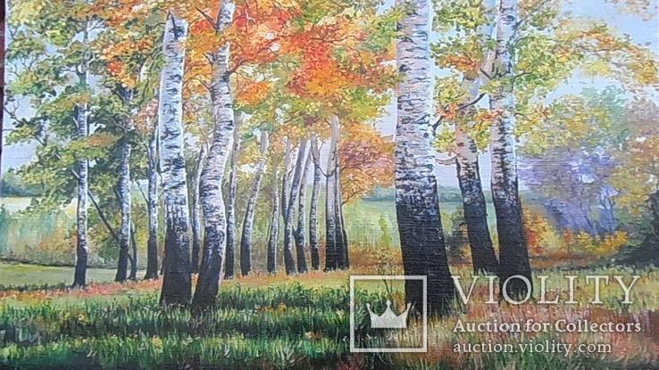 Картина маслом 82,5 х55 см. Копия., фото №2