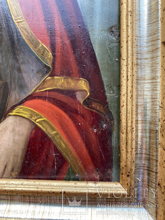 Икона Святой Пантелеймон Целитель, фото №6