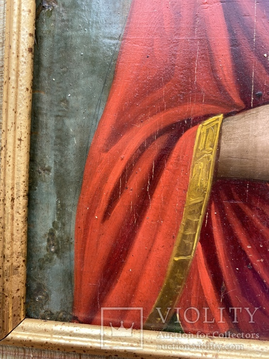 Икона Святой Пантелеймон Целитель, фото №7