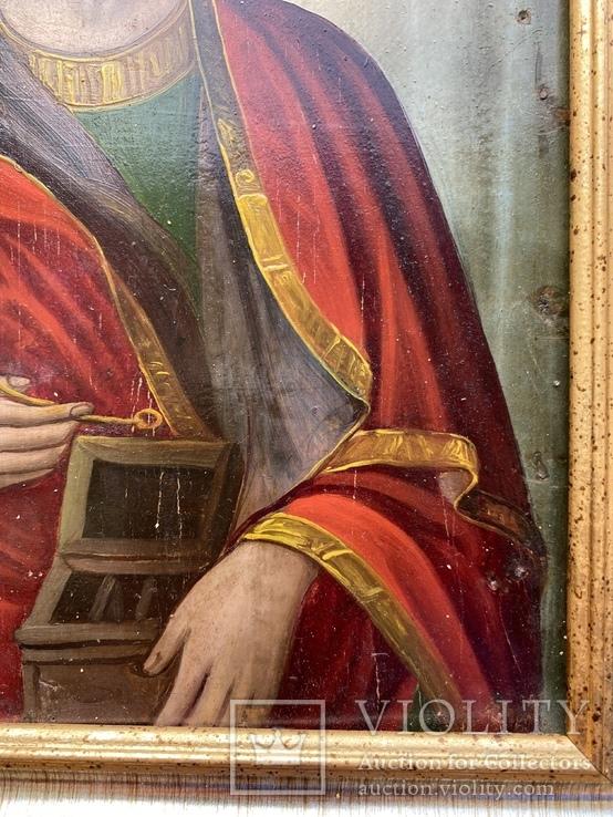Икона Святой Пантелеймон Целитель, фото №11