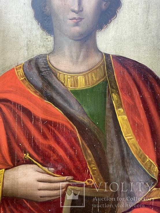 Икона Святой Пантелеймон Целитель, фото №12