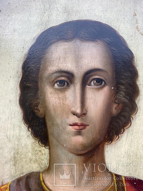Икона Святой Пантелеймон Целитель, фото №13