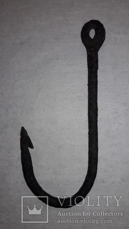 Рыболовный кованный крючок , 15 см., фото №9
