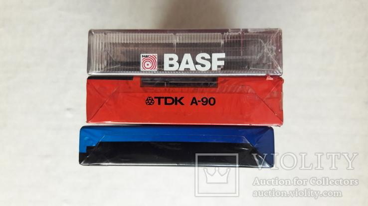 Аудио кассеты новые ТDK , BASF , Konika, фото №3