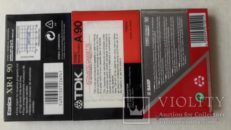Аудио кассеты новые ТDK , BASF , Konika, фото №6